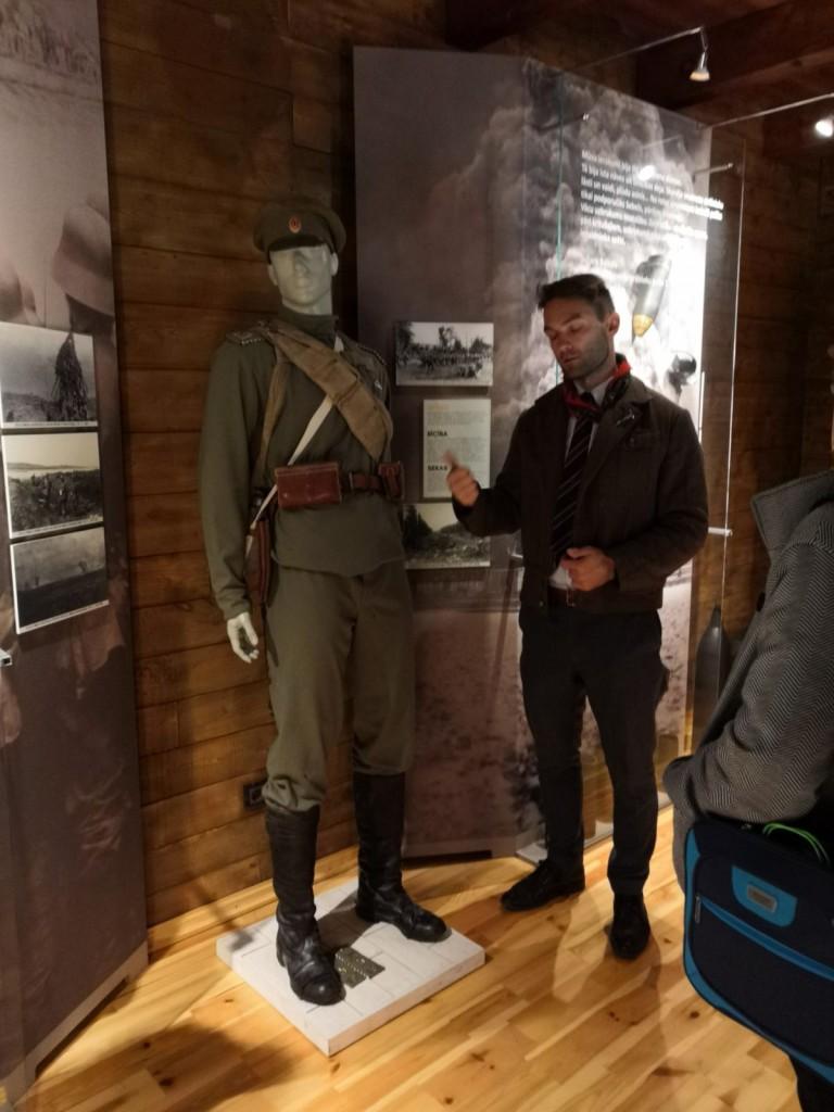 Juglas kauju liecību muzejā2