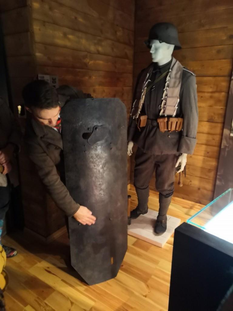 Juglas kauju liecību muzejā