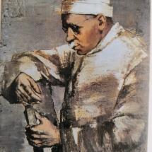 Stradiņš Leo Kokles glezna